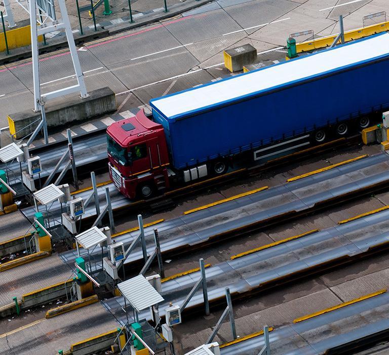 ważenie ciężarówki